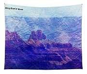 Grand Canyon As A Painting 2 Tapestry