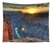 Grand Canyon First Light Tapestry