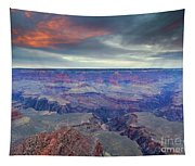 Grand Canyon Storm Set Tapestry