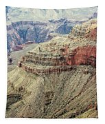 Grand Canyon View Tapestry