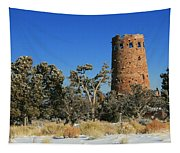 Grand Canyon Watch Tower Tapestry