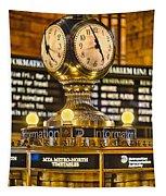 Grand Cerntral Terminal Clock No. 1 Tapestry