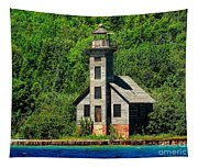 Grand Island East Channel Light Tapestry