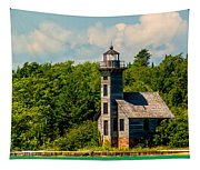 Grand Island Lighthouse Tapestry