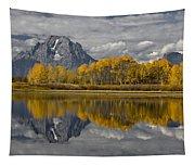 Grand Teton Gold Tapestry