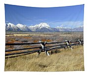 Grand Teton Nat'l Park Tapestry