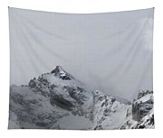 Grand Tetons Moon Tapestry