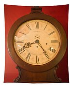 Grandfather Clock Top 1 Tapestry
