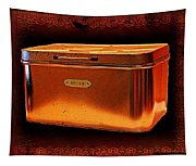 Grandma's Kitchen- Copper Breadbox Tapestry