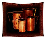 Grandma's Kitchen-copper Measuring Cups Tapestry