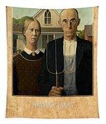 Grant Wood 1 Tapestry