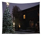 Grants Pass Town Center Christmas Tree Tapestry