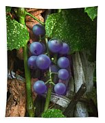 Grapes On The Vine Tapestry