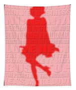 Graphic Marilyn Monroe 2 Tapestry