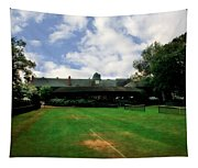 Grass Courts At The Hall Of Fame Tapestry