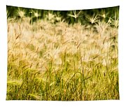 Grass Feathers Tapestry