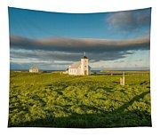 Grasslands And Flatey Church, Flatey Tapestry