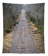 Gravel And Steel Tapestry