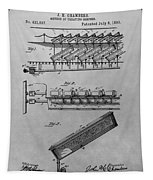 Graveyard Patent Tapestry