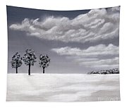 Gray Day Tapestry