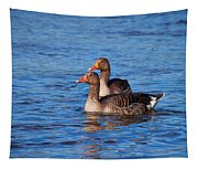 Graylag Goose Tapestry