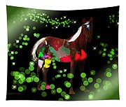 Grazing In The Grass - Featured In Visions Of The Night Group Tapestry