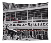 Great American Ball Park And The Cincinnati Reds Tapestry