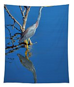 Tricolored Heron Tapestry
