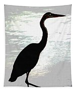 Great Blue Herons Nightside Tapestry