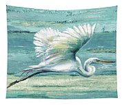 Great Egret I Tapestry