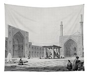 Great Friday Mosque In Isfahan Tapestry