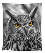Great Horned Owl V9 Tapestry