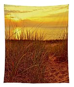 Great Lake Great Sunset 2 Tapestry