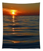 Great Lake Sunset Tapestry
