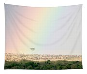 Great Migration Of Wildebeests, Masai Tapestry