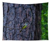 Greater Crested Flycatcher Tapestry