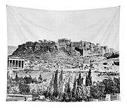 Greece Acropolis Tapestry