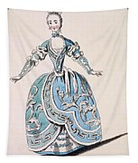 Greek Costume For The Chorus Tapestry