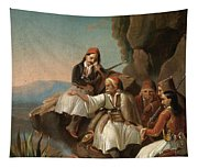 Greek Freedom Fighters Tapestry