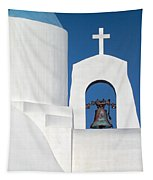 Greek Island Church Tapestry