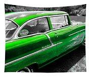 Green 1957 Chevy Tapestry