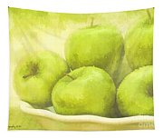 Green Apples Tapestry