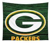 Green Bay Packers Barn Door Tapestry