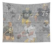 Green Bay Packers Legends Tapestry
