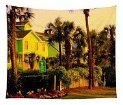Green Beauty At Isle Of Palms Tapestry