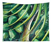 Green Coconuts  2  Tapestry