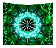 Green Compass Tapestry