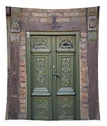 Green Door Ystad Tapestry