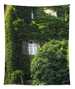 Green Entrance Tapestry