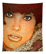 Green Eyed Redhead IIi Tapestry